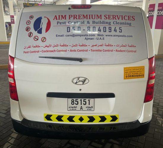 Aim premium pest control and building cleaning serivces Ajman